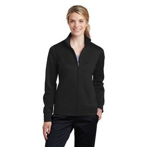 Sport-Tek� Ladies' Sport-Wick� Fleece Full-Zip Jacket