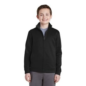 Sport-Tek� Youth Sport-Wick� Fleece Full-Zip Jacket