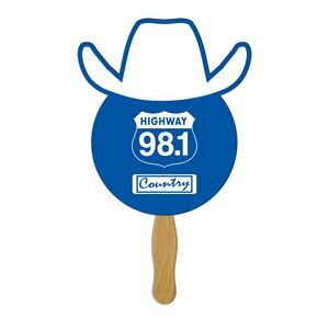 Cowboy Fast Hand Fan (1 Side) 1 Day