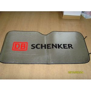 "Full Color Car Windshield Sunshade (Super Saver - 51"" x 23.5"")"
